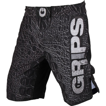 Шорты Grips Black Crocodile (grpshorts015) мма шорты Grips Athletics crocodile.