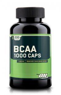 OPTIMUM NUTRITION BCAA 1000 Caps (200 капсул)