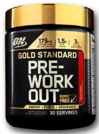 OPTIMUM NUTRITION Gold Standard PRE- (30 порций)