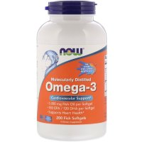 NOW Omega 3 200 кап
