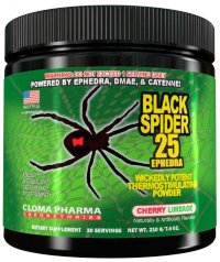 CLOMA PHARMA Black Spider Powder 30 порц