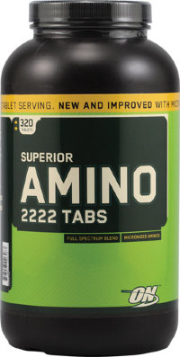 OPTIMUM NUTRITION Super Amino 2222 (320 таблеток)
