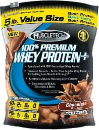 MuscleTech 100% Whey Plus 5lb (2,27кг)