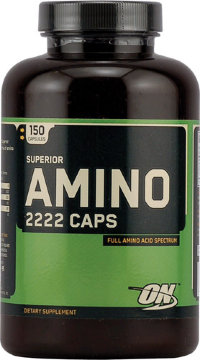 OPTIMUM NUTRITION Super Amino 2222 Caps (150 капсул)