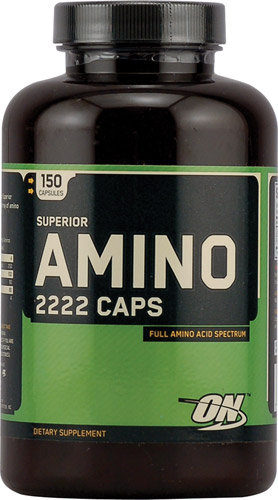 OPTIMUM NUTRITION Super Amino 2222 Caps (150 капсул) Superior AMINO 2222 Caps содержит 22 аминокислоты.