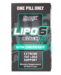 Nutrex Lipo 6 Black Hers Ultra Concentrated (60 капсул)