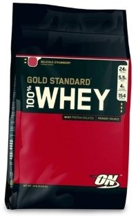 OPTIMUM NUTRITION 100% Whey Protein Gold Standard 10lb (4,54кг)