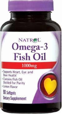 NATROL Omega-3 Fish Oil 1000 mg (90 капсул)