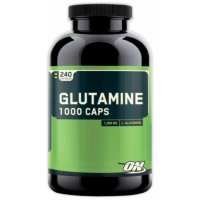 OPTIMUM NUTRITION Glutamine 1000 Caps (240 капсул)