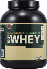 OPTIMUM NUTRITION 100% Whey Protein Gold Standard Natural 5lb (2,27кг)