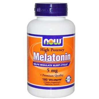 Now Melatonin 5 mg (180 капсул)