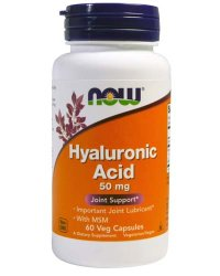 NOW Hyaluronic Acid 50 мг (60 капсул)