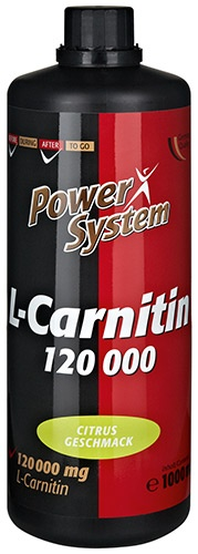 POWER SYSTEM L-Carnitine 120000mg (1л)