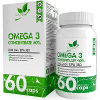 NATURALSUPP Omega 3 60% Омега 3 1000мг (60 капсул)
