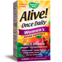 NATURE'S WAY Alive! Once Daily Women's (60 таблеток)