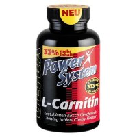 PowerSystem L-Carnitine 333mg (80 таблеток)