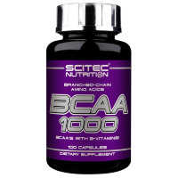 SCITEC BCAA 1000 (100 капсул)