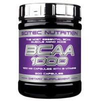 SCITEC BCAA 1000 (300 капсул)