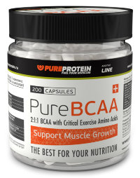 PureProtein BCAA (200 капсул)