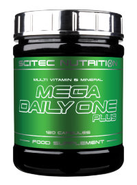 SCITEC Mega Daily One Plus (120 капсул)