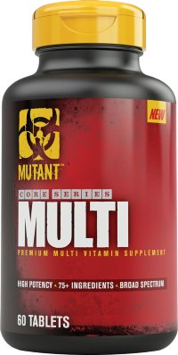 PVL Mutant Core MultiVitamin 60 капсул