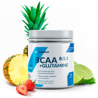 CYBERMASS BCAA 8:1:1 Plus Glutamine 220 г